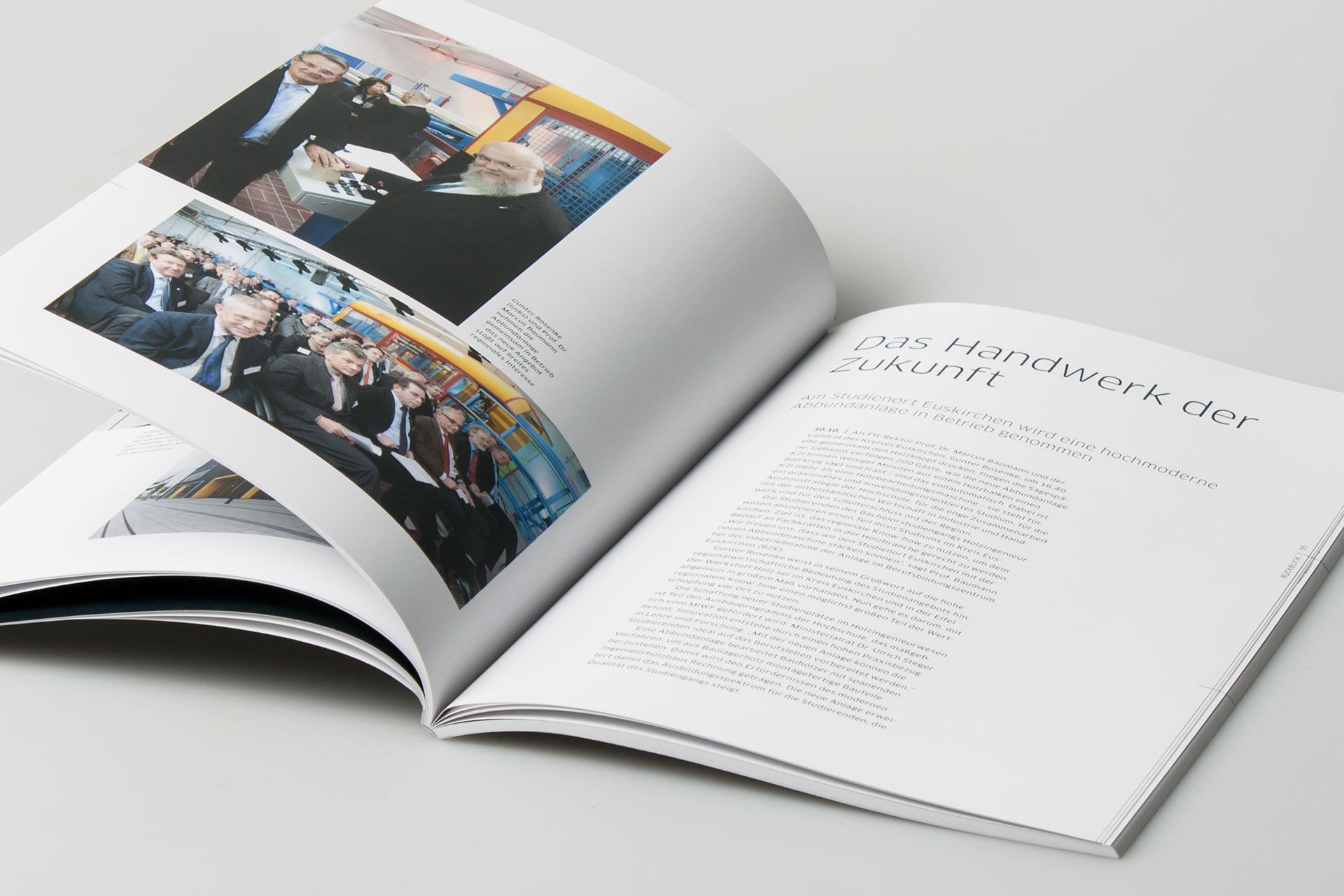 Bericht des Rektorats