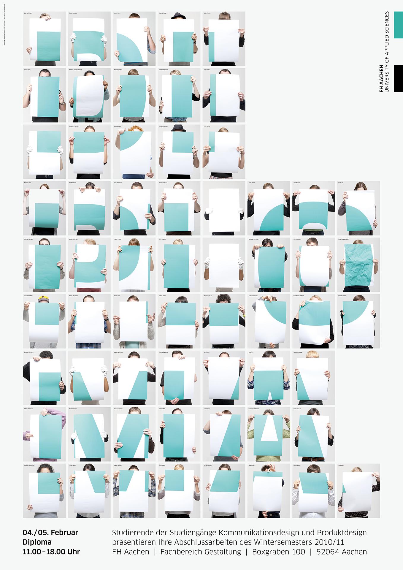 Winter 2010 11 prof ralf wei mantel corporate design for Produktdesign fh